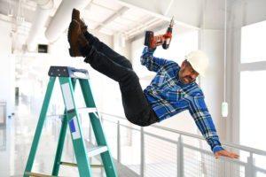 Man Falling Off Ladder: Workers Comp Brooklyn Claim