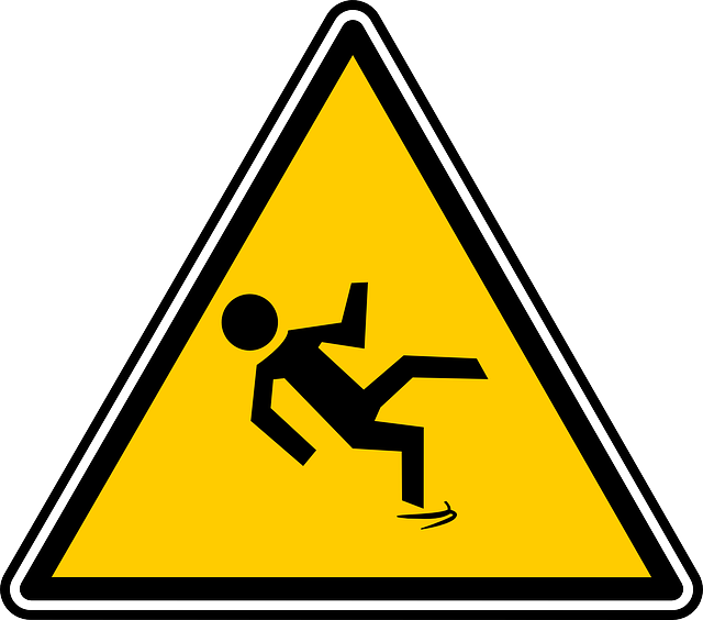 slip and fall sign for workers comp in Brooklyn